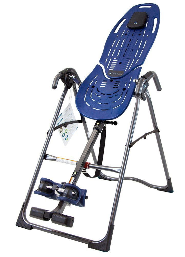 Teeter hang ups ep 560 review the inversion table doctor for Table inversion